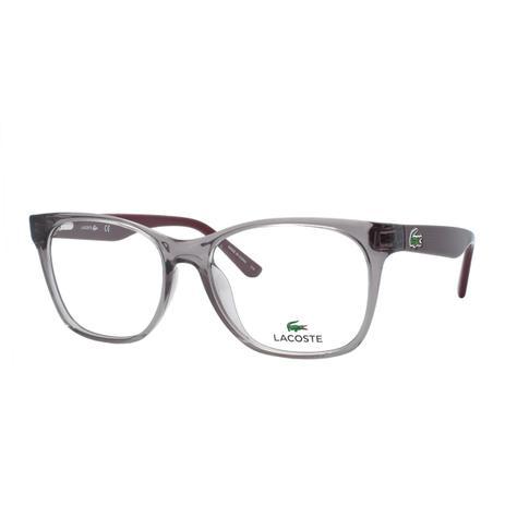 Óculos de Grau Lacoste Feminino L2767 662 - Acetato Roxo Transparente f24caf92a4