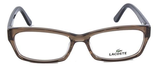 9e6eb8b1d4c89 Óculos de Grau Lacoste L2687 Marrom - Óptica - Magazine Luiza