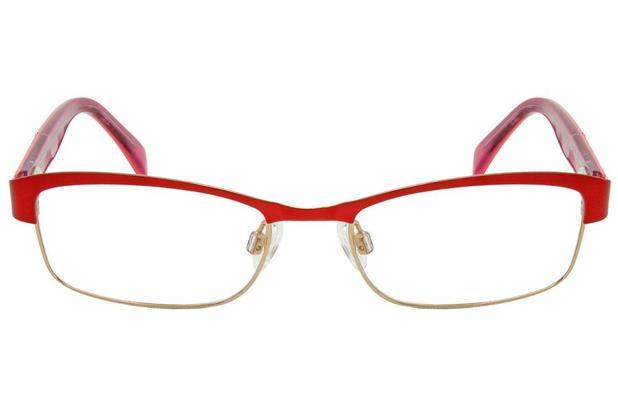 Óculos de Grau Lilica Ripilica VLR053 C2 49 Vermelho - Óptica ... 1edae2020f