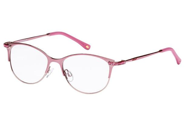 Óculos de Grau Lilica Ripilica VLR108 C01 48 Rosa - Óptica ... 2f58d5971c