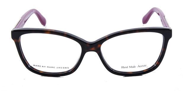 6da28a4517d1d Óculos de Grau Marc by Marc Jacobs MMJ571 Tartaruga Magenta - Óptica ...