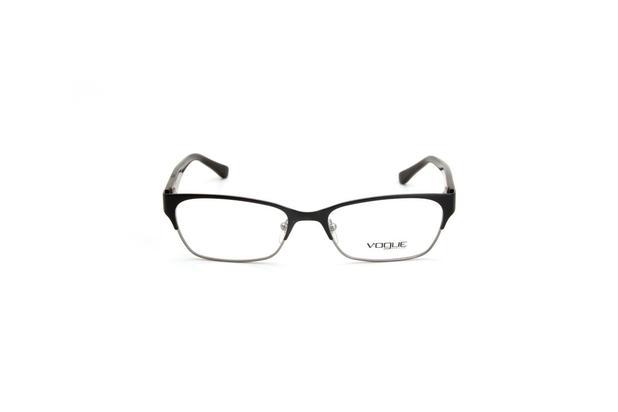 3c9bf0422 Oculos de Grau Masculino Vogue Metal Preto Quadrado - Óptica ...