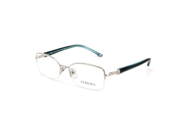 5cfa63c1e431c Óculos de Grau Metal e Acetado Feminino Prata - Versace - Óculos de ...