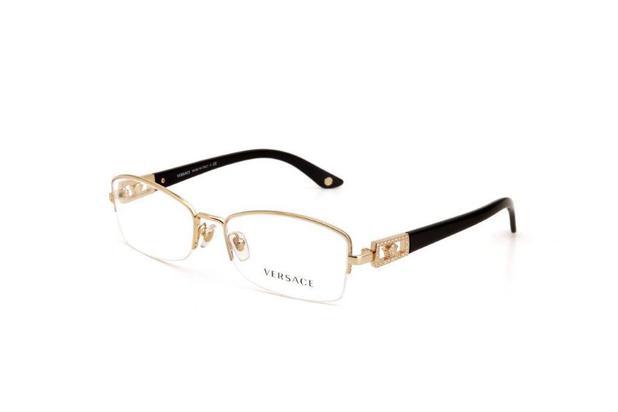 2c7cafc1a Óculos de Grau Metal Versace Feminino Dourado - Óptica - Magazine Luiza