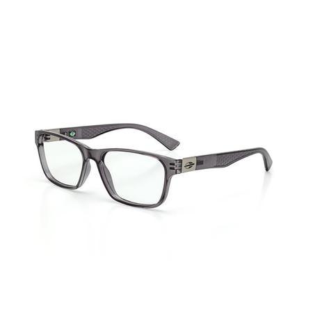 Imagem de Óculos de Grau Mormaii DHAKA M6069 D49 54 Cinza Fumê Lente  Tam 53