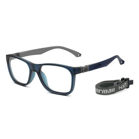 678910955 Óculos de grau Mormaii grab azul translúcido Fosco - Óptica - Magazine Luiza
