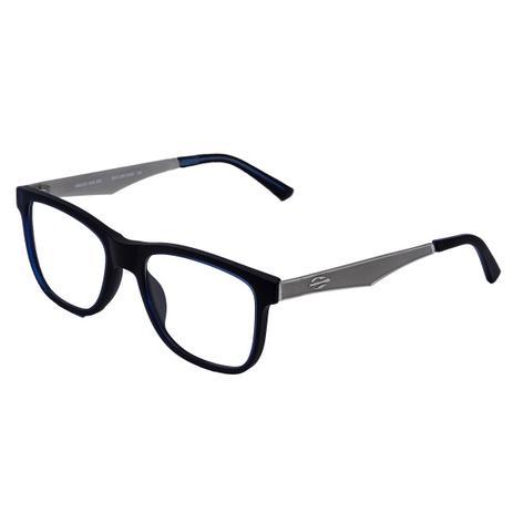 4779844c90762 Óculos de Grau Mormaii M610 - Acetato Preto Azulado Cinza - Óculos ...