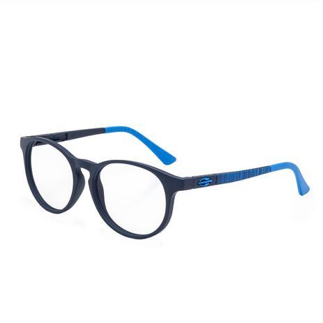 ea9650b8c89f1 Óculos de Grau Mormaii Ollie Infantil M6064K8350 - Acetato Azul Escuro Fosco