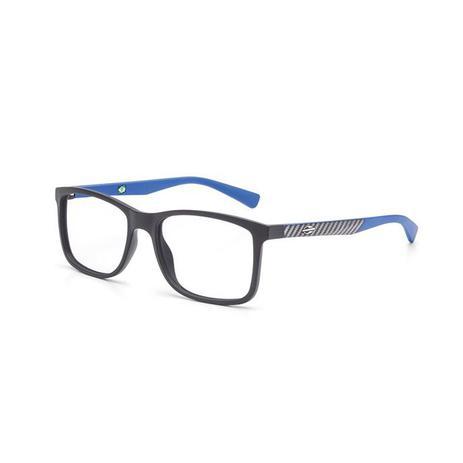 Imagem de Óculos de Grau Mormaii PEQUIM M6060 AFA 53 Preto Lente  Tam 53