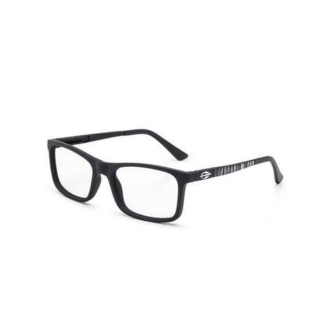 Imagem de Óculos de Grau Mormaii SLIDE NXT M6068 ACO 50 Preto Lente  Tam 53