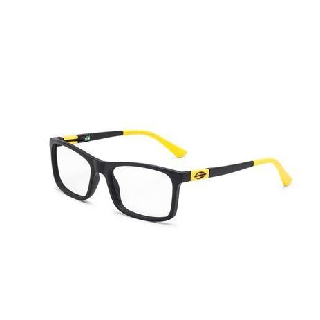 Imagem de Óculos de Grau Mormaii SLIDE NXT M6068 AFG 50 Preto Lente  Tam 53