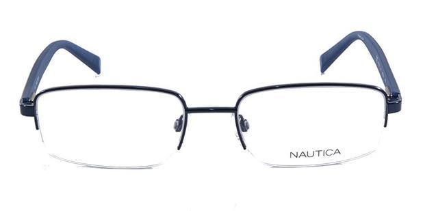 4bb6efc464543 Óculos de Grau NAUTICA N7250 Azul - Óptica - Magazine Luiza