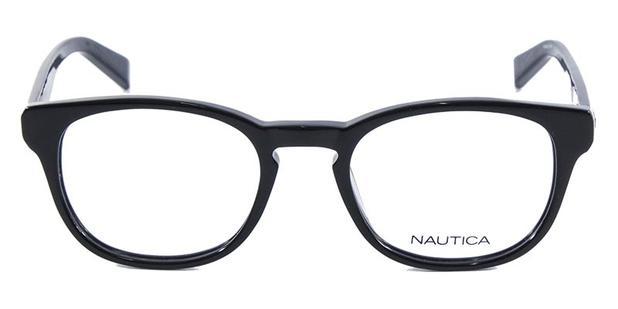 c82abd3dc05fa Óculos de Grau Nautica N8107 Preto - Óptica - Magazine Luiza