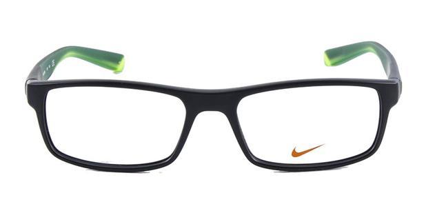 Óculos de Grau Nike 7090 Preto e Amarelo - Óptica - Magazine Luiza 228b8e2176