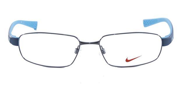 11ec0994d07c0 Óculos de Grau Nike 8161 Grafite Azul - Óptica - Magazine Luiza
