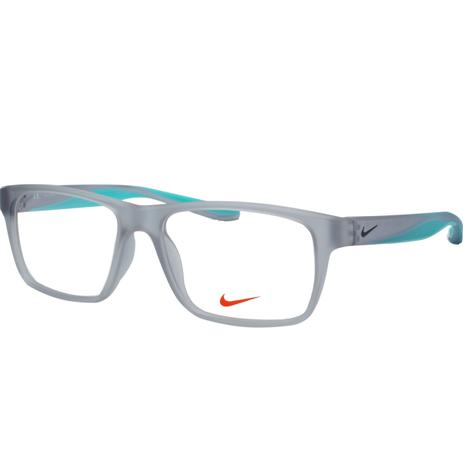 219bc1742a78f Óculos de Grau Nike Masculino NIKE7101 050 - Acetato Cinza Translúcido e  Verde Água