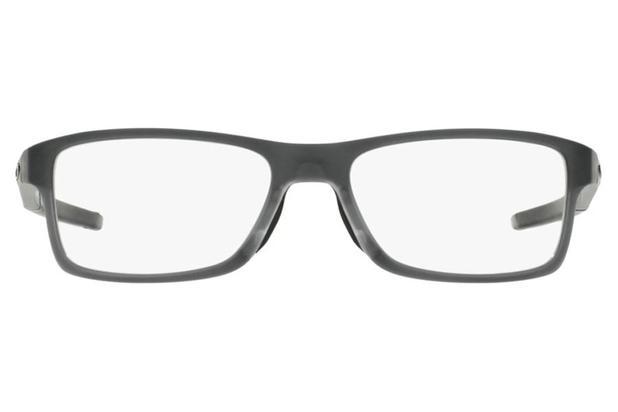 1948f8ac1 Óculos de Grau Oakley Chamfer Mnp 0OX8089 03/54 Cinza - Óculos de ...