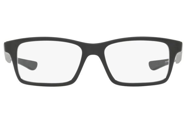 cbdc9cc4e Óculos de Grau Oakley Shifter Xs Kids 0OY8001 05/48 Preto Polido ...
