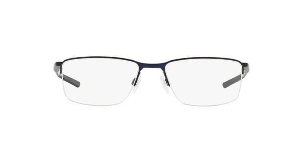 bf90ca4c08596 Óculos de Grau Oakley Socket 5.5 OX3218 04 Azul Midnight Lente Tam ...