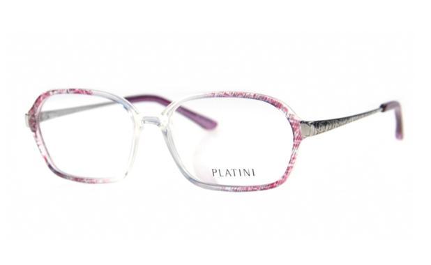 dc71006e5d232 Óculos de Grau Platini Feminino Retrô P93126 Tam.54 - Óptica ...