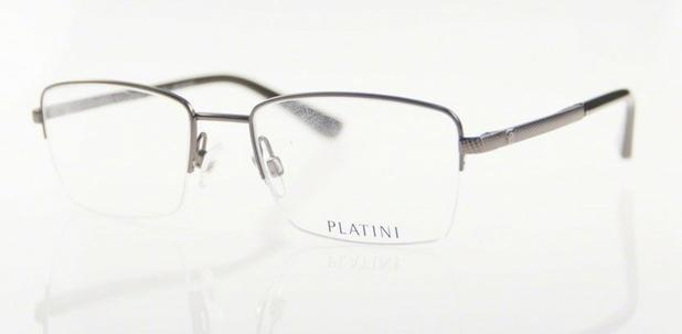 Óculos de Grau Platini Masculino Metal P91160 Tam.52 - Óptica ... d7bad3ab8e