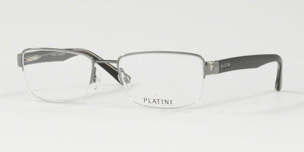 Óculos de Grau Platini Masculino Prata P91149 Tam.54 - Óptica ... ad8c725cee