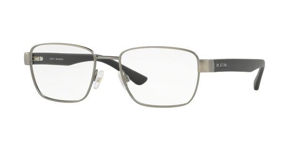 c0d2b4325046d Óculos de Grau Platini P91176 F615 Prata Lente Tam 53 - Óptica ...