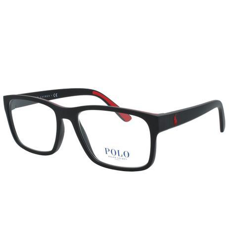 cd03bb963d078 Óculos de Grau Polo Ralph Lauren Masculino PH2172 5001 - Acetato Preto