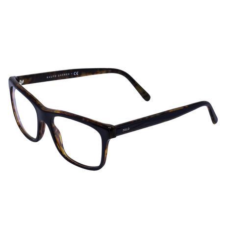c6b44d5c7b25b Óculos de Grau Polo Ralph Lauren PH2173 C5638 - Acetato Preto e Tartaruga