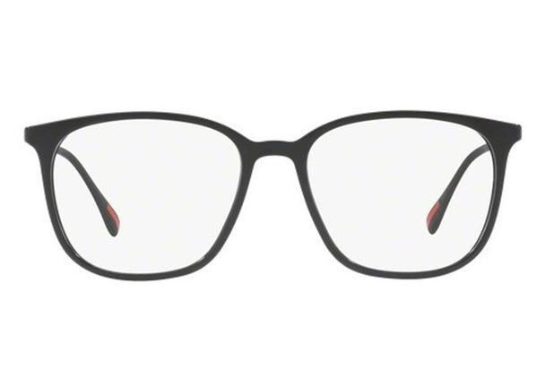a099bdeb0 Óculos de Grau Prada Linea Rossa PS 03IV 1AB1O1/54 Preto - Óculos de ...