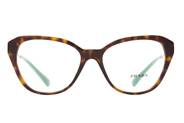 3ceb041b3 Óculos de Grau Prada PR 28SV 2AU1O1/54 Tartaruga - Óptica - Magazine ...