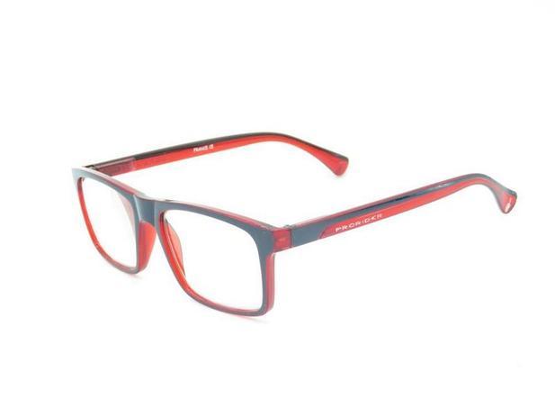 797240d88 Óculos de grau Prorider vermelho com preto fosco ZF8832 - Óptica ...