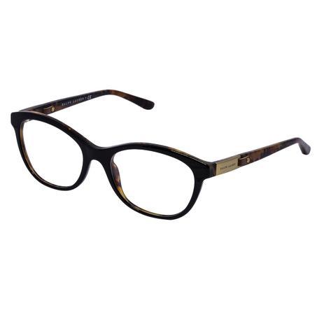 4464590cae96c Óculos de Grau Ralph Lauren Feminino RL6157Q C5260 - Acetato Preto ...