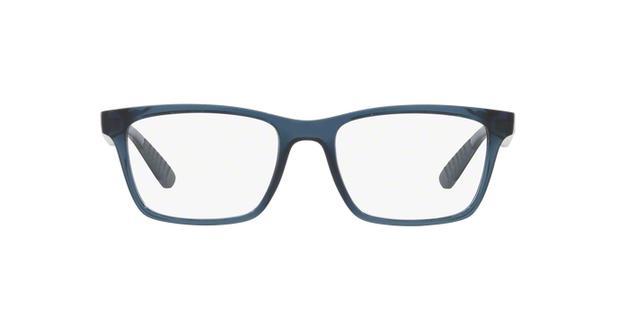 f5b9710f6834c Óculos de Grau Ray Ban Active RB7025 Azul Transparente Cinza ...