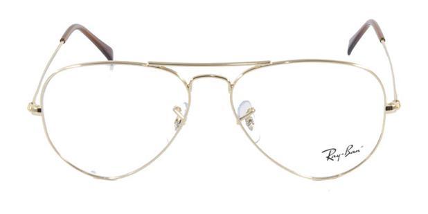 Óculos de Grau Ray Ban Aviator 6049 Ouro - Ray-ban - Acessórios de ... 7ec43accfd