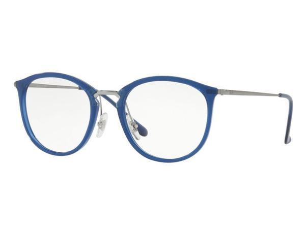 bf56aef85 Óculos de Grau Ray Ban Azul Feminino RB7140 5752 Tam. 51 - Ray ban original
