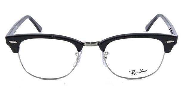 ... get Óculos de grau ray ban clubmaster rb5154 preto polido ray ban 1893c  f9f23 86280c4fc1