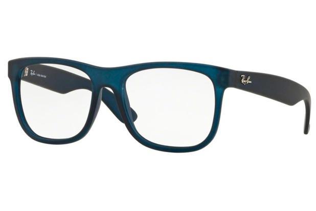 88f5421eb Óculos de Grau Ray Ban Ennio RX7057L 5787/54 Azul - Óptica ...
