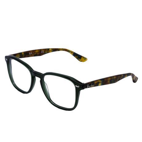 66fabb3d4c4fc Óculos de Grau Ray Ban Feminino RB5352 - Acetato Tartaruga Verde ...