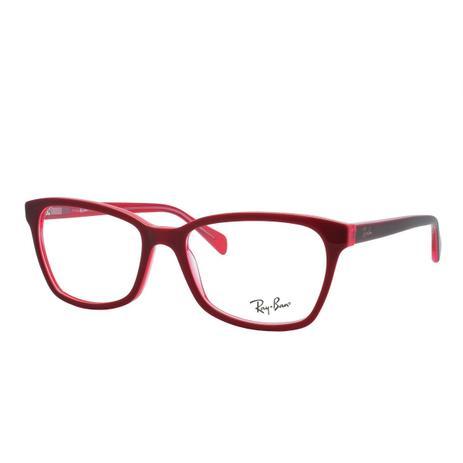 0208f3a0b Óculos de Grau Ray Ban Feminino RX5362 5777 - Acetato Vermelho