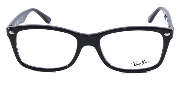 d880786ae8230 Óculos de Grau Ray Ban Highstreet RB5228 Preto 55 - Ray-ban - Óptica ...