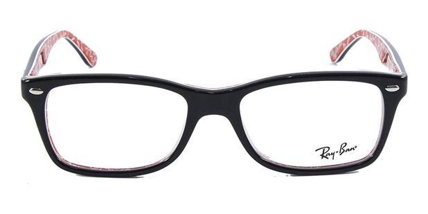 60b6b2eb9fbc9 Óculos de Grau Ray Ban Highstreet RB5228 Preto Transparente - Óptica ...