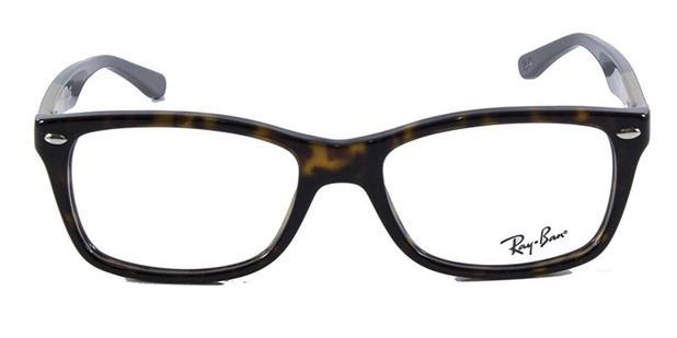 6c13d9703 Óculos de Grau Ray Ban Highstreet RB5228 Tartaruga Marrom - Ray-ban ...