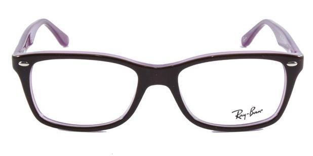 cdc279766 Óculos de Grau Ray Ban Highstreet RB5228 Vinho - Ray-ban - Óculos ...