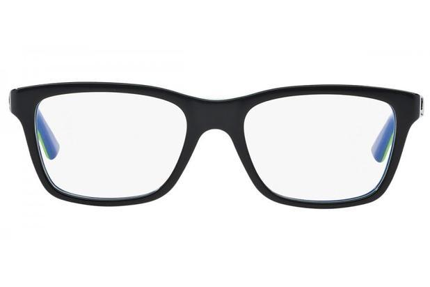 e3303b08d Óculos de Grau Ray Ban Junior RY1536 3600/48 Preto/Azul ...