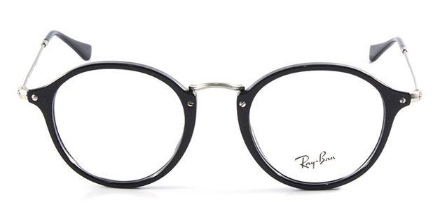 Óculos de Grau Ray Ban Round Fleck RB2447 Preto - Ray-ban - Óptica ... 87127eadd3