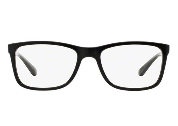 7d2077118c26a Óculos de Grau Ray Ban RX7027 2000 Preto Polido Lentes Tam 54 - Ray ...