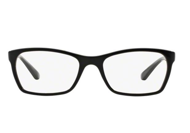 e40ad2c81 Óculos de Grau Ray Ban RX7033 2000 Preto Polido Lentes Tam 52 - Ray-ban
