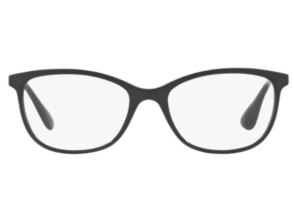 Óculos de Grau Ray Ban RX7106 5697 Preto Fosco Lentes Tam 53 - Ray ... 6e33fc8b3c