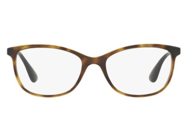 a2aeb35e6 Óculos de Grau Ray Ban RX7106 5999 Tartaruga Lentes Tam 53 - Ray-ban ...